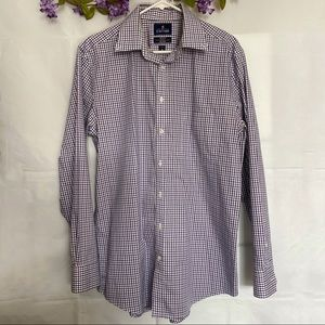 Stafford wrinkle free super shirt long sleeved